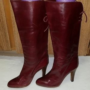 Vintage leather boots size 8 1/2